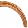 Aluminum Wire 12ga (2.5mm) 30ft Round Light Copper